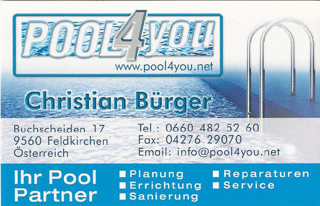 Pool for You
